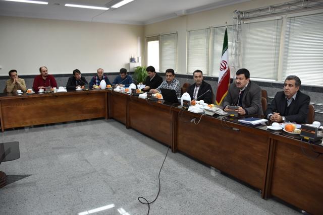 جلسه کمیته کاهش تلفات باحضور مدیر عامل